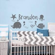 nautical nursery wall decal sea theme