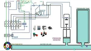 automatic pressure control starter control wiring and operation single phase you