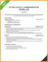 Cashier Resume Skills Resume Template For Cashier Cashier Resume