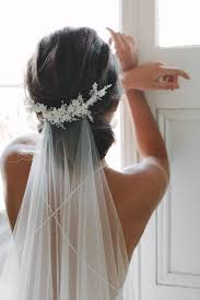 Wedding Hairstyles For Medium Length Hair With Veil Unique Marion