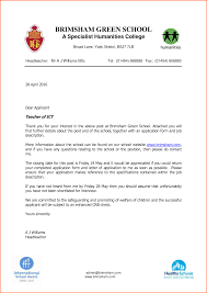 sample application job letter for a teacher budget template ict teacher application letter