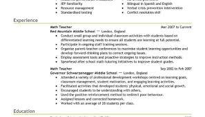 Elementary Teacher Resume Examples Samples Of Teacher Resume