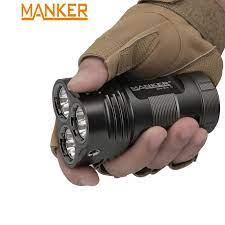MANKER MK34II 17,600 Lumen 12x LUMINUS SST40 LED(/ 20,000 LUMINUS SST40 LED  / 26,000 Lumens 12x CREE XHP50.2 đèn LED Đèn Pha Tìm Kiếm|LED Flashlights