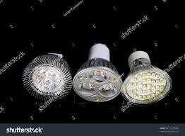 Different Types Of Led Lights 3 Different Types Led Lamp Isolated Stock Photo Edit Now