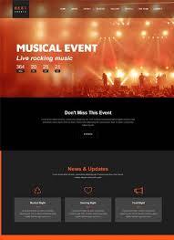 Event Management Website Templates Bootstrap Free Download Best