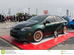Toyota corolla modified editorial photography. Image of extreme ...