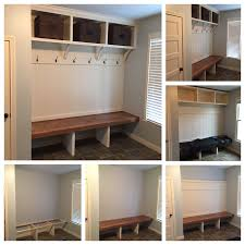 Mudroom Bench With Coat Rack Custom Mudroom Bench With Open Shoe Storage Area For Coats Image On 78