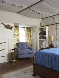 Inspiration for an eclectic bedroom remodel in Bridgeport with white walls