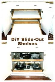 slide out shelves for kitchen cabinets home depot organizers cabinet sliding best ideas cupboard drawers
