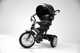 Bentley 6 In 1 Baby Stroller Kids Trike Bn1f Onyx Black