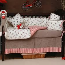 best sock monkey crib bedding