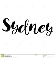 Sydney Name Design Female Name Sydney Lettering Design Handwritten