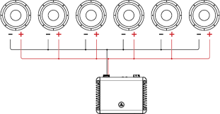 2 ohm speaker wiring diagrams jl audio Ã' header Ã' support Ã' tutorials Ã' tutorial wiring single 2 ohm subwoofers 0 subwoofer speaker amp wiring diagrams