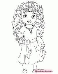 Baby Princess Coloring Pages Baby Disney Princess Coloring Pages And