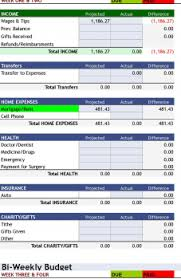 Expense Excel Spreadsheet Free Download Expenses Household Budgeting ...