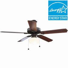 hampton bay tri mount 52 in indoor oil rubbed bronze ceiling fan