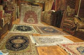 a selection of turkish rugs at a in istanbul turkey