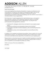 Program Coordinator Cover Letter Event Manager Cover Letter Ideas