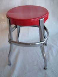 Vintage Three Tiered Antique White Painted Kitchen Utility Cart