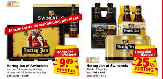 Hertog, jan aanbieding, bier aanbiedingen van, hertog, jan