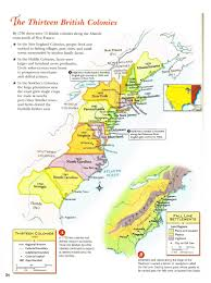 enduringvisions dom and slavery in late colonial america british colonies map jpg