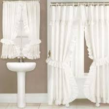 1000 images about double swag shower curtainatching window shower curtain with matching window valance