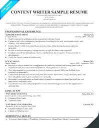 Writer Resume Template Magnificent Freelance Writer Cv Template Resume Sample Author Best Samples