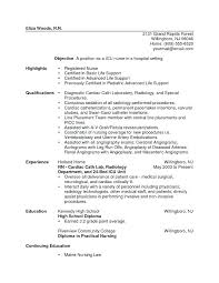 Sample Graduate School Resume Adorable Resume For New Nursing Graduate Pohlazeniduse