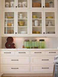 glass front kitchen cabinets glass cabinet