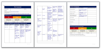 Fatigue Risk Management Chart Risk Assessment For General Electrical Work Risk Analysis