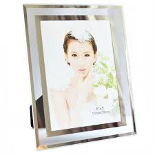 Glass Photo Frames With Lights Amazon Com Gift Garden Morden Glass Edging Picture Frames