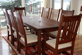 amish dining table with leaves. craftsman dining set in walnut amish table with leaves