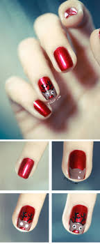 144 best * Christmas Nail Art Design Ideas images on Pinterest ...