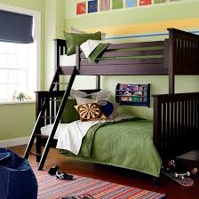 The Land of Nod | Kids' Bunk Beds: Kids Twin-Over-Full Espresso ...