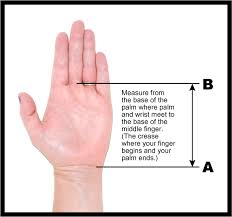 Gymnastics Grips Size Chart For Rookies Beginners