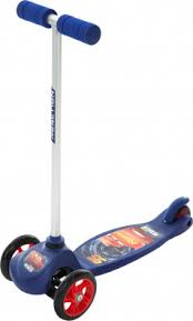 <b>Самокат 3-х колесный</b> REACTION Cars Синий цвет — купить за ...