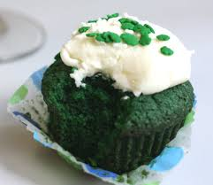 Image result for green velvet cupcakes images