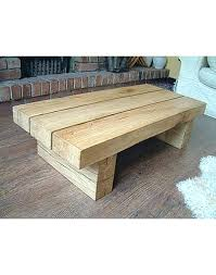 solid oak coffee table brilliant natural solid light oak 3 beam coffee table hand made oak