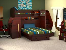 creative bedroom furniture. The Lavish Interior Creative Space Saving Bedroom And Desk In Side Bookshelves Upper Bed Awesome Furniture Design Ideas For