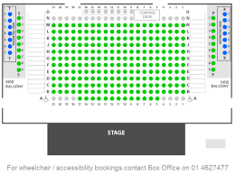 Gaiety Theatre Dublin Seating Chart Seating Plan The Civic