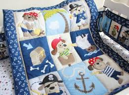 puppy baby crib cot bedding quilt