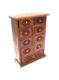 Small Picture Buy PINDIA Cabinet Mini Wooden Chest Coin Jew Collection Door Home