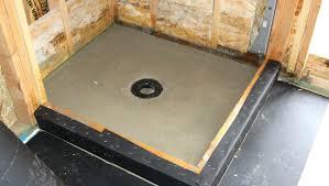 shower floor liner large size of shower pan liner sealant material installation best instructions