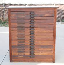 file cabinet design architect inspiring antique printers typeset printer with drawers printers type cabinet