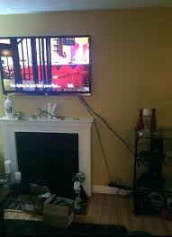 hide wires behind tv how to hide wires without cutting wall those awful wires showing how
