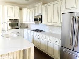cabinets painted in sherwin williams dover white