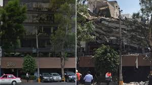 It measured a magnitude of 7.8. Mexico City Before And After The Earthquake The New York Times