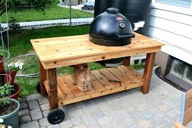 outdoor prep station grill