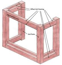patio bar frame