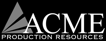 acme productions logo. the acme corporation productions logo r